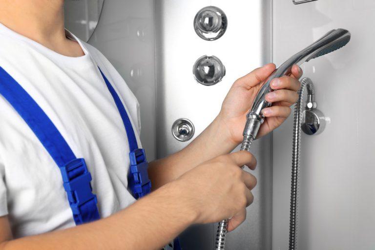 installation douche