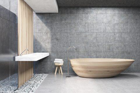 baignoire moderne design